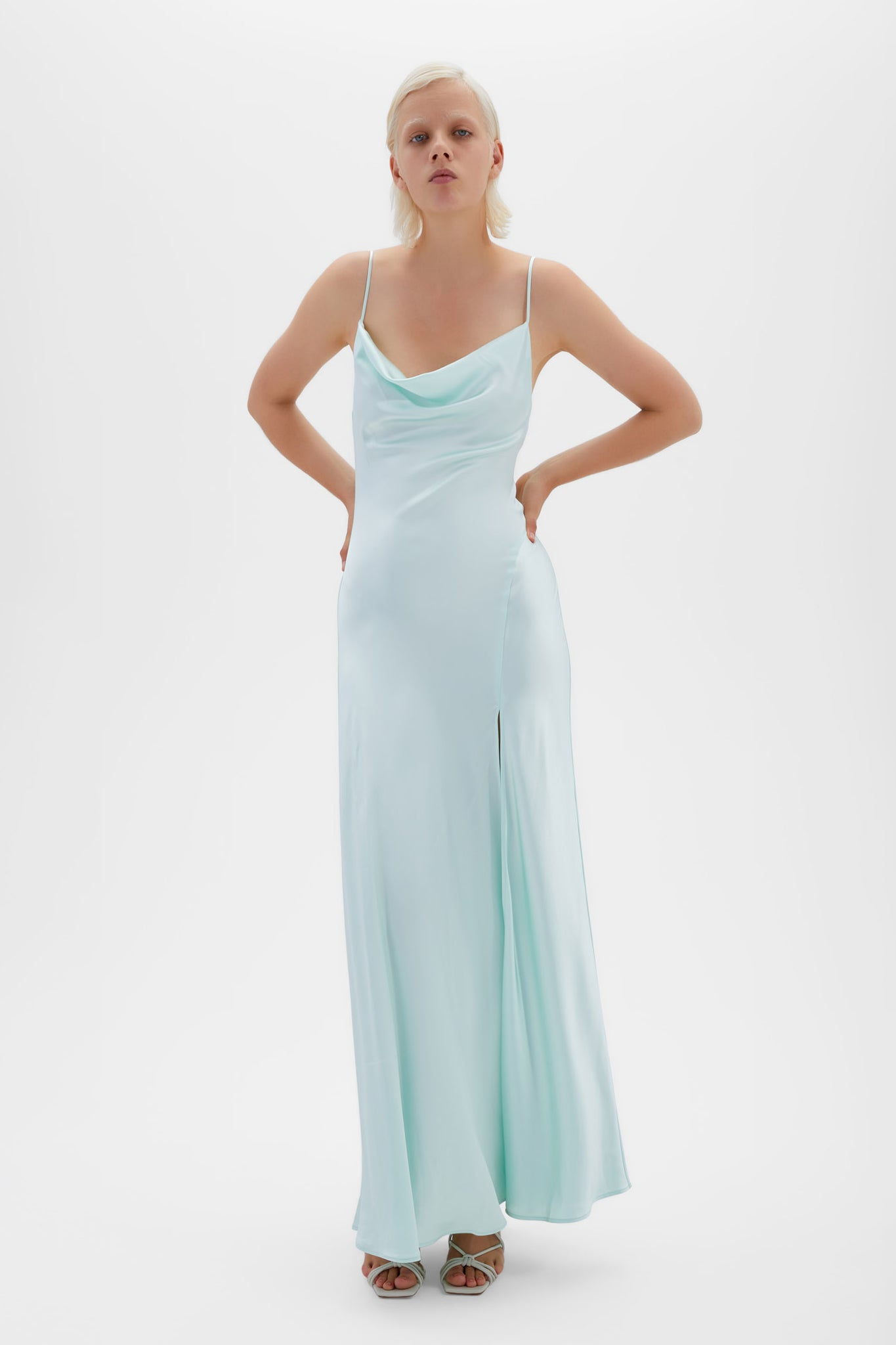 Finley Satin Gown