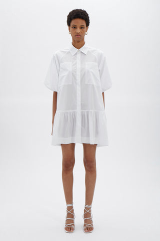 Crissy Oxford Mini Dress