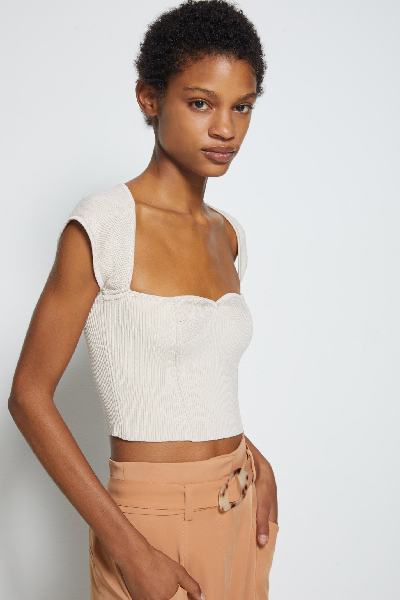 Abia Cropped Tee