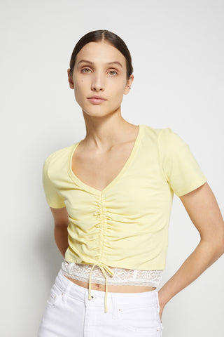 Aida Ruched Front Top