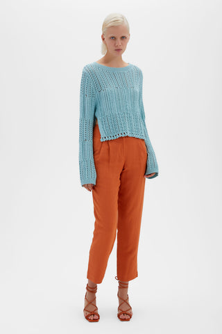 Amberly Chunky Knit Pullover