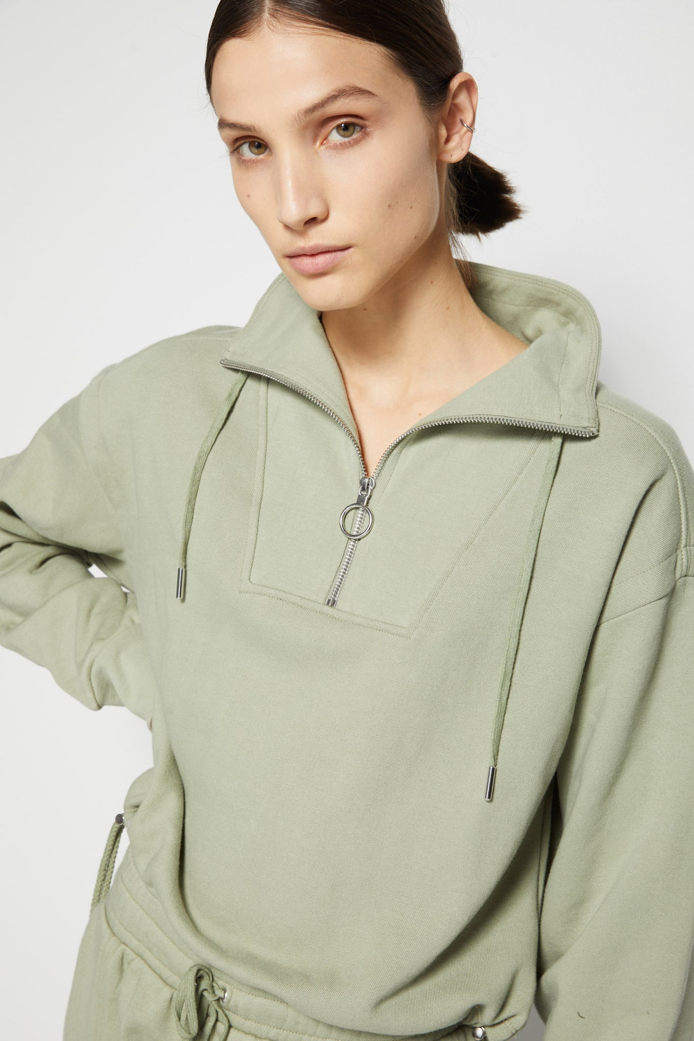 Zella Organic Terry Pullover