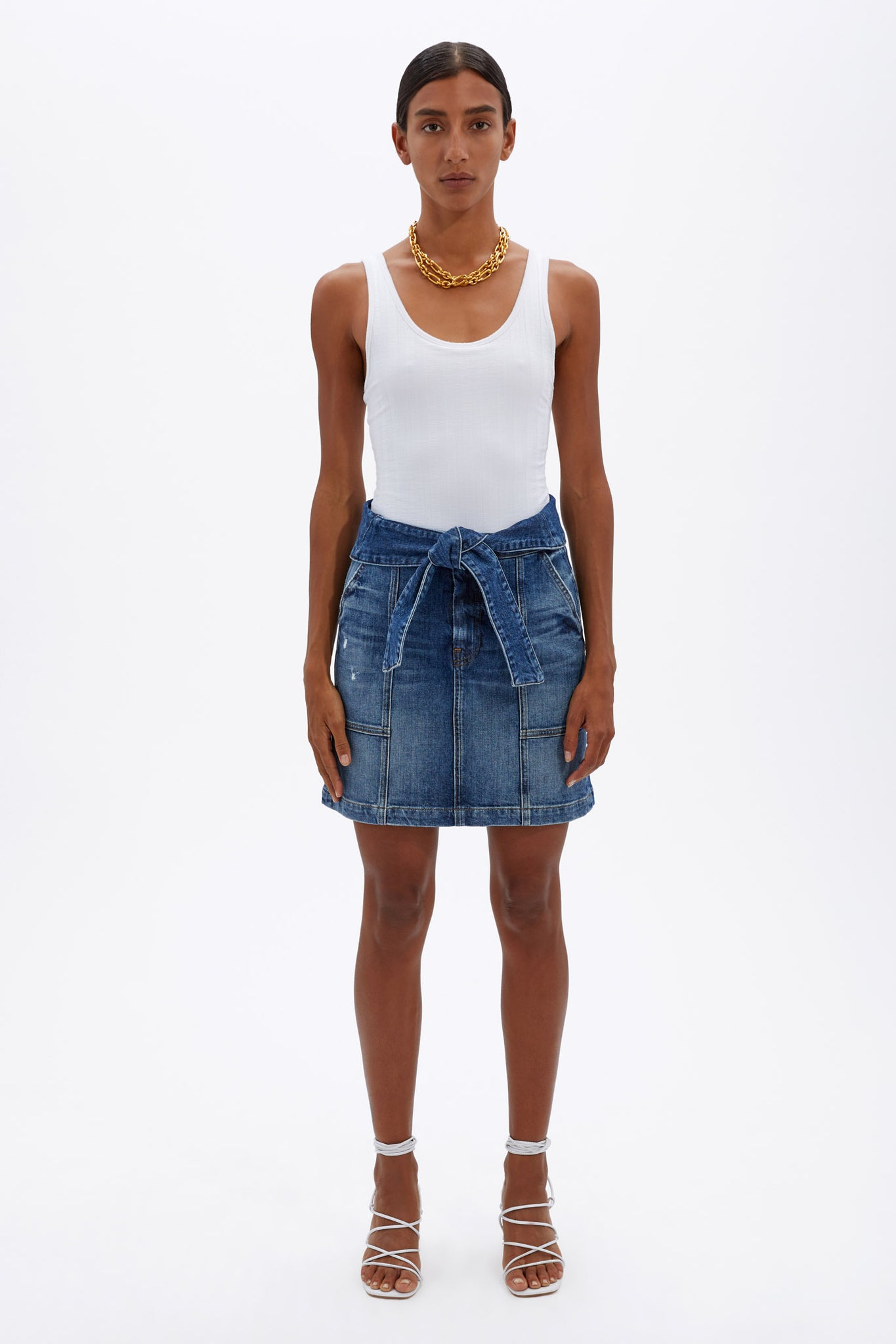 Kennie Denim Skirt