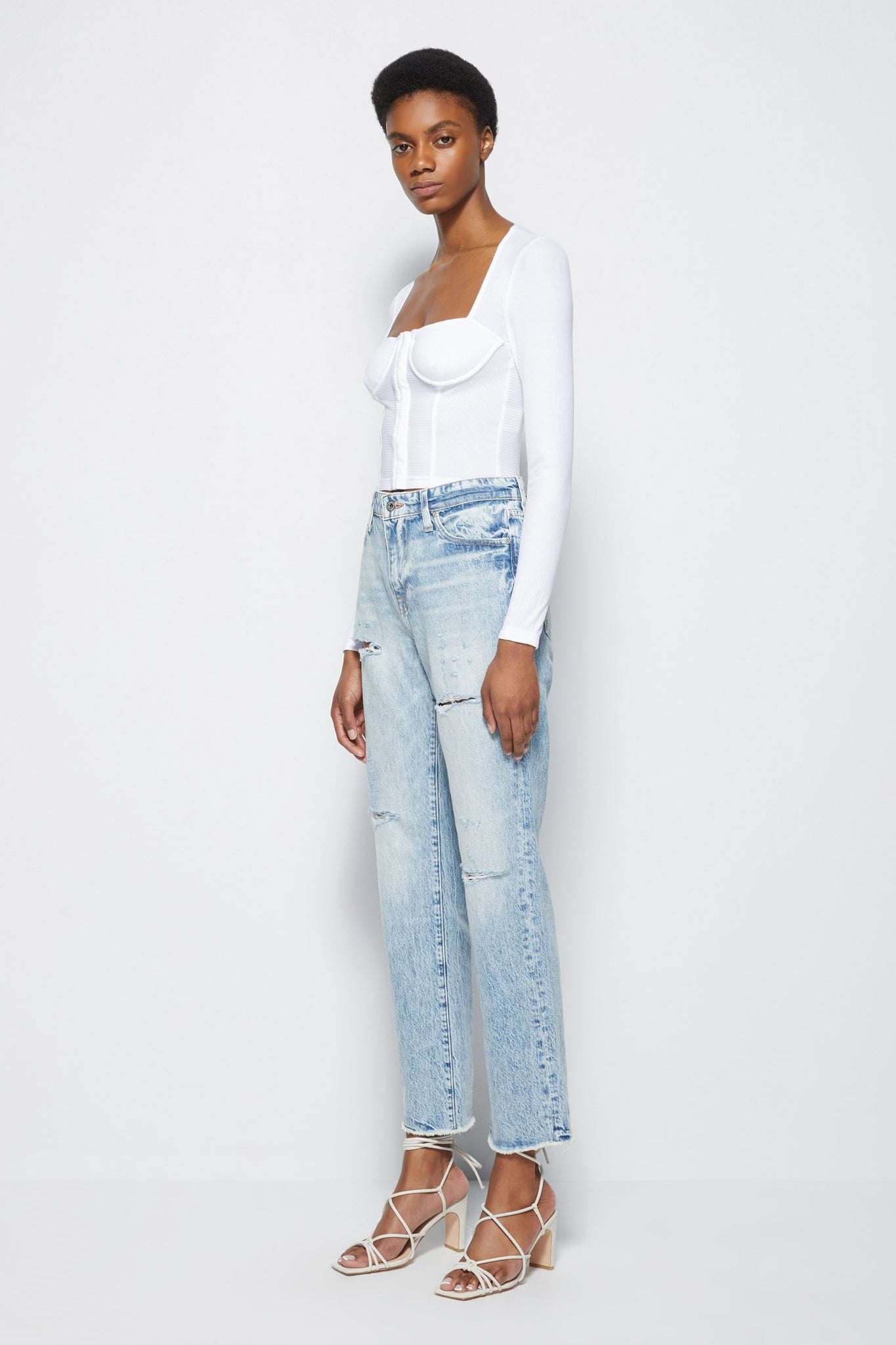 Eliot High Rise Denim