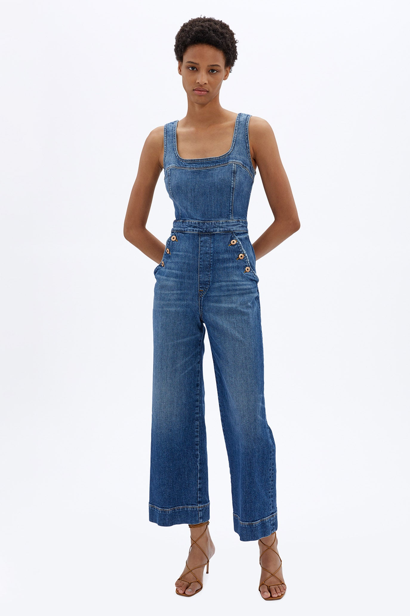 Bailey Denim Jumpsuit