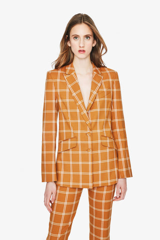 Windowpane Boyfriend Blazer