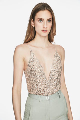 Speckled Sequin Bodysuit