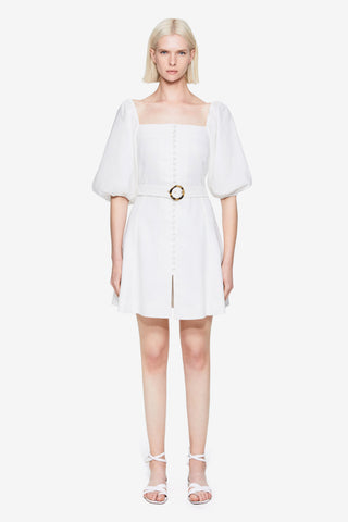 Emery Linen Mini Dress