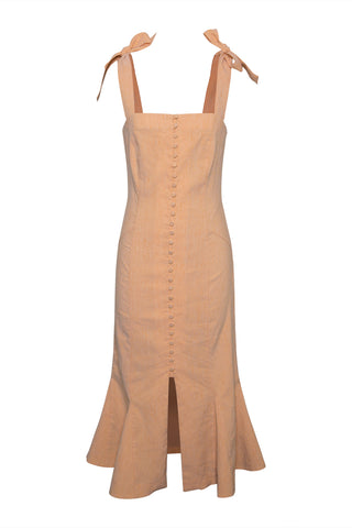 Dawn Linen Apron Dress