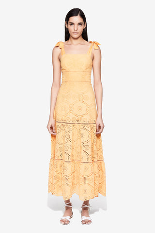 Nicole Broderie Anglaise Midi Dress