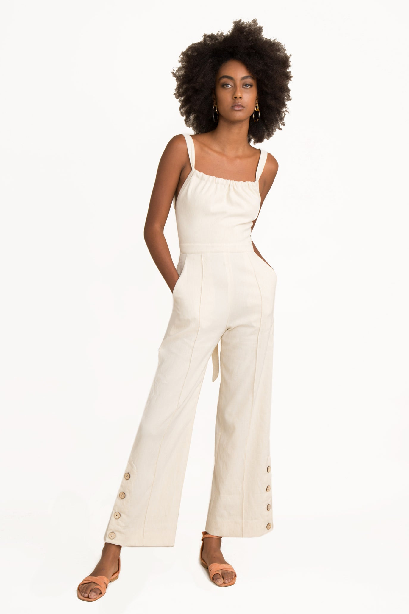 Stephanie Linen Jumpsuit
