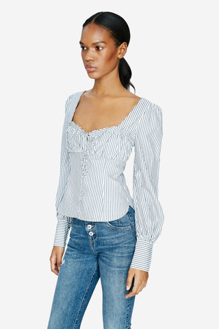 Oxford Bustier Top