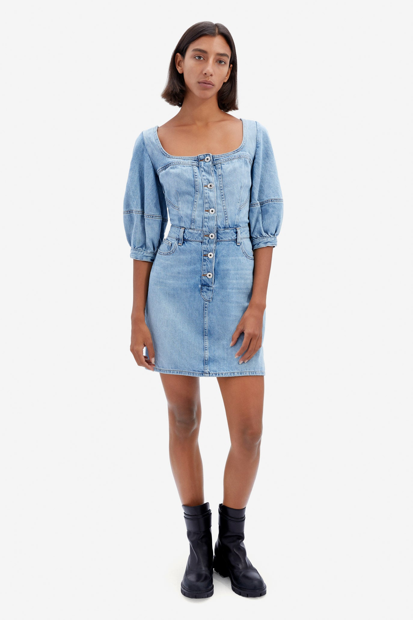 Poppy Denim Mini Dress