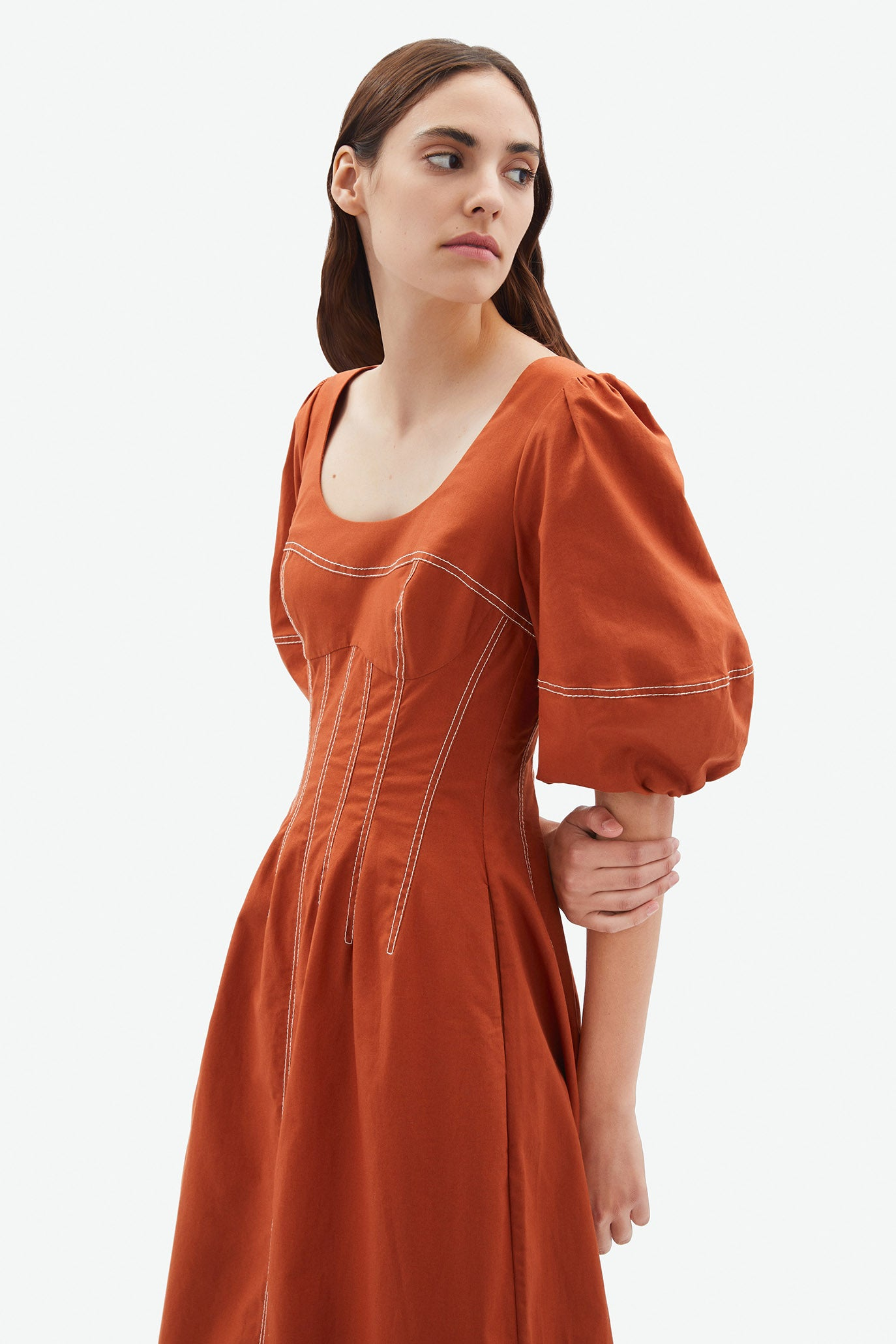 Lena Puff Sleeve Dress