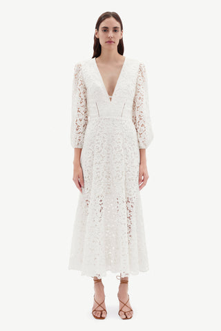 Lara Lace Midi Dress