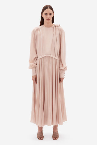 Nicolette Pleated Dress