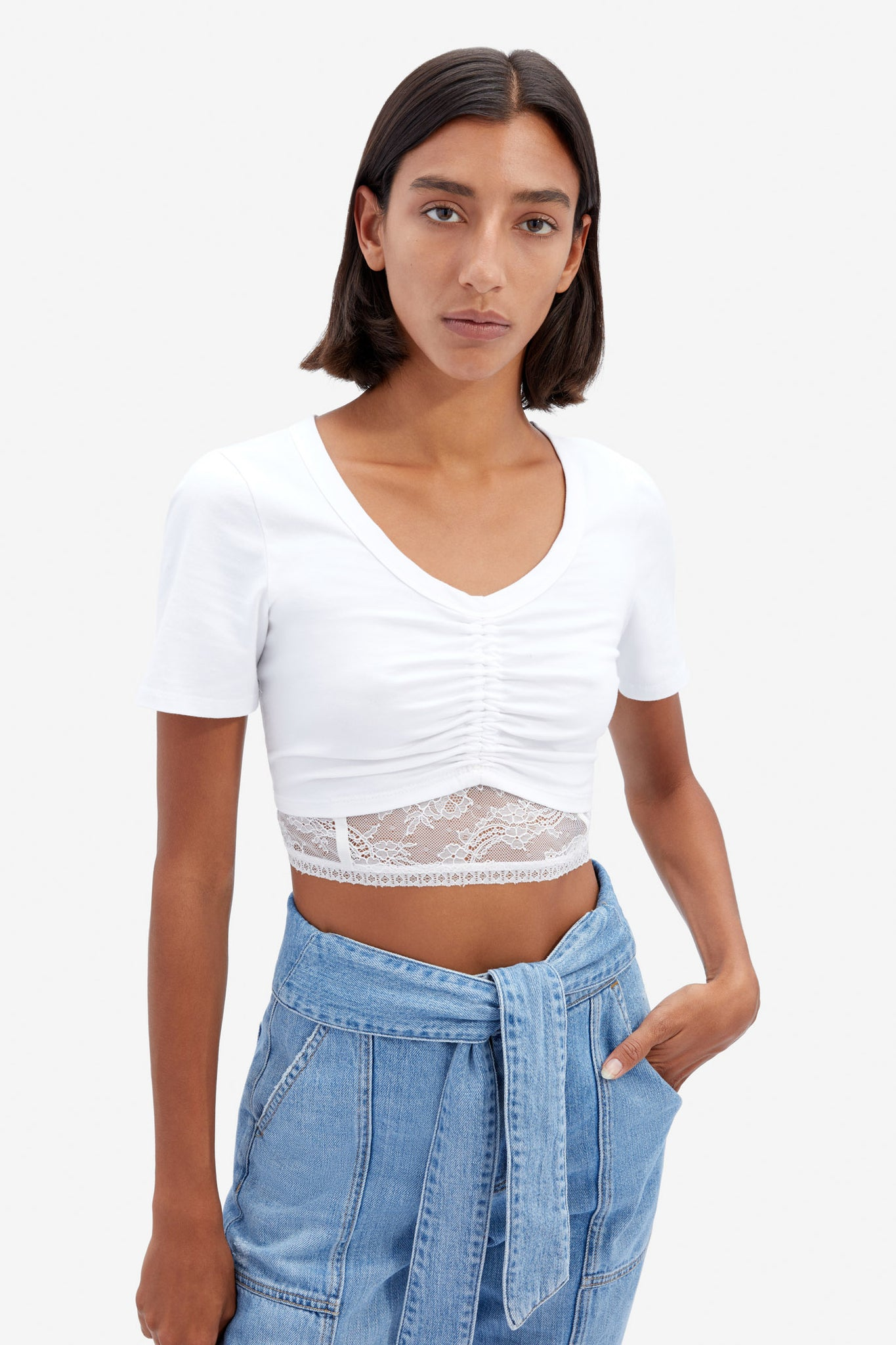Aida Organic Cotton Crop Top