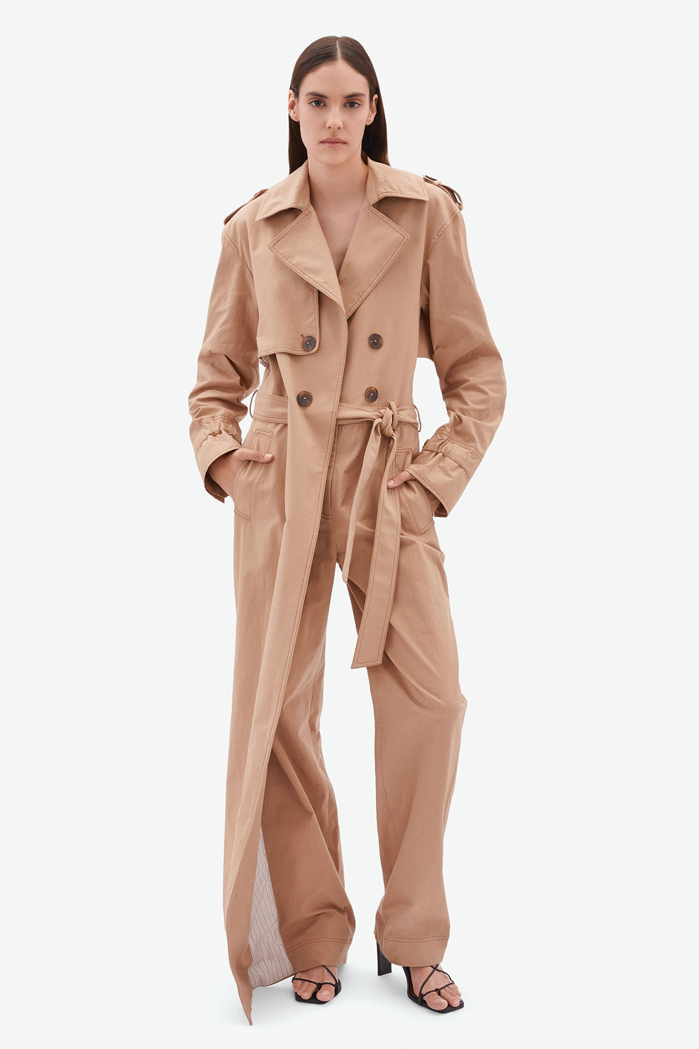 Harlow Trench Jumpsuit
