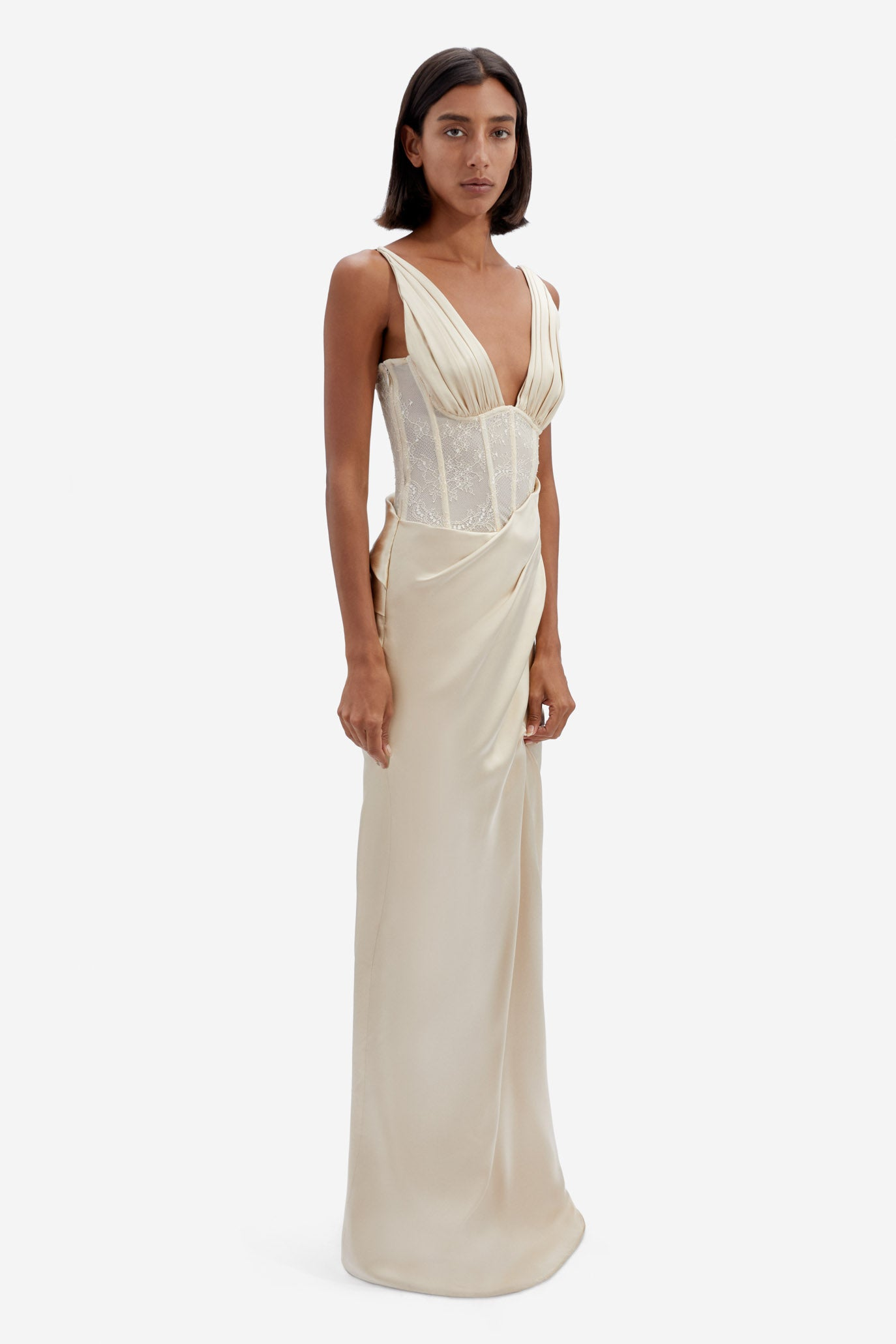 Maeve Wrap Gown