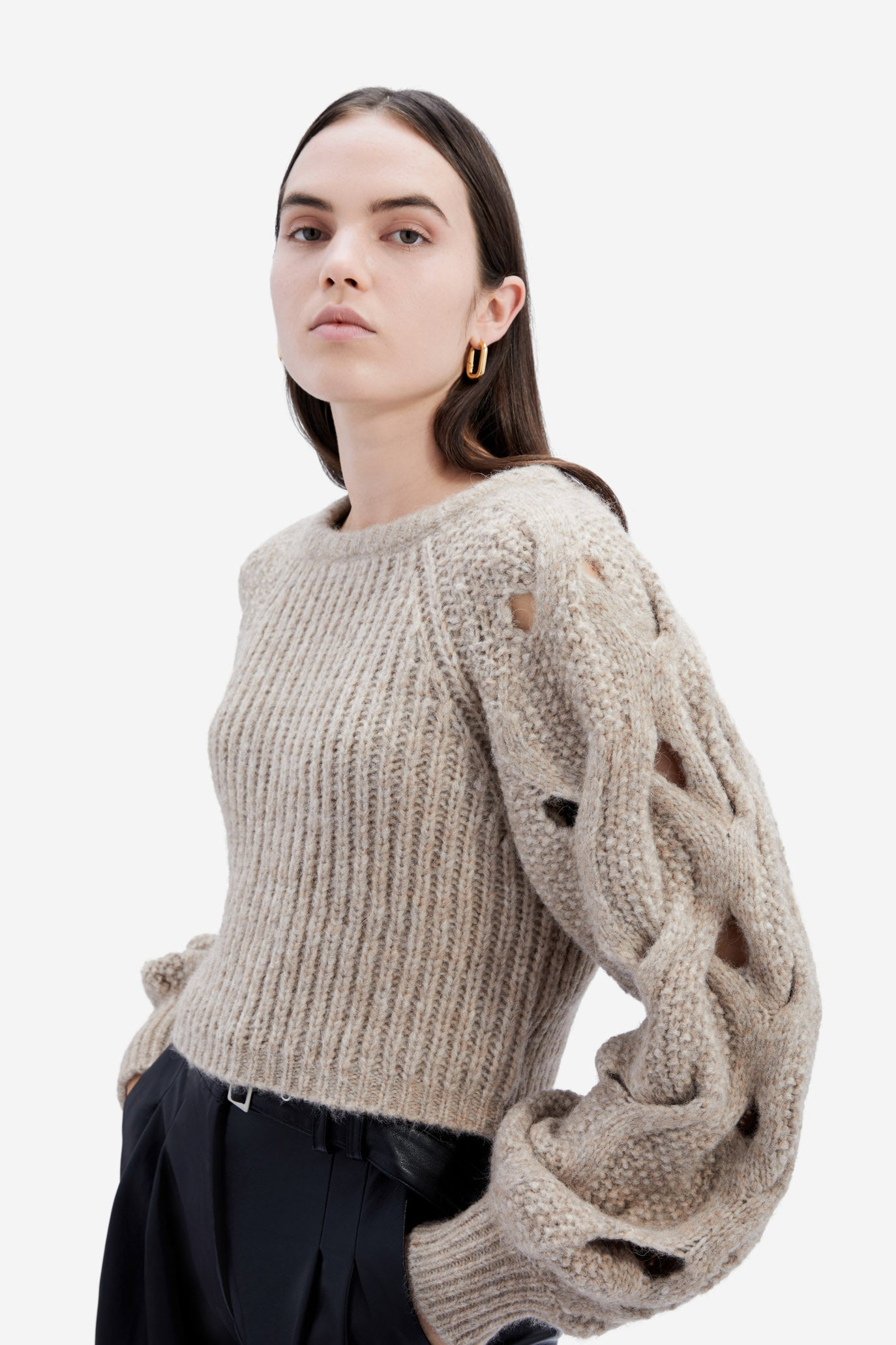 Alexa Alpaca Sweater