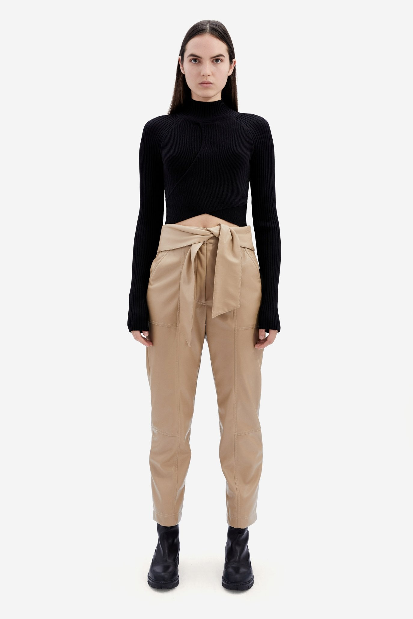 Camila Cutout Turtleneck
