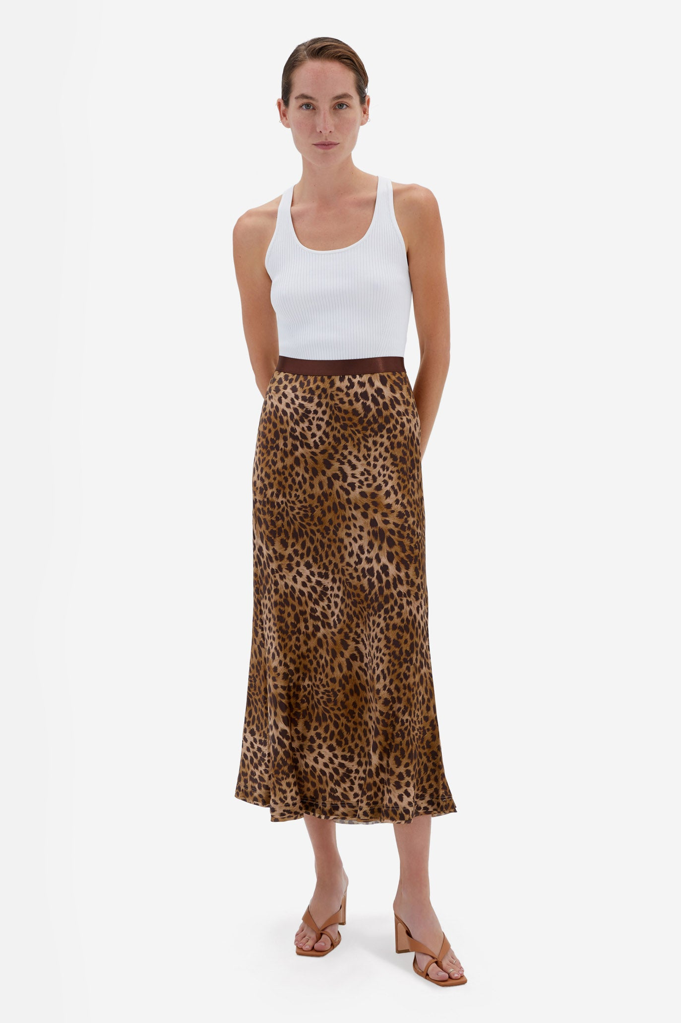 Sylvia Charmeuse Skirt