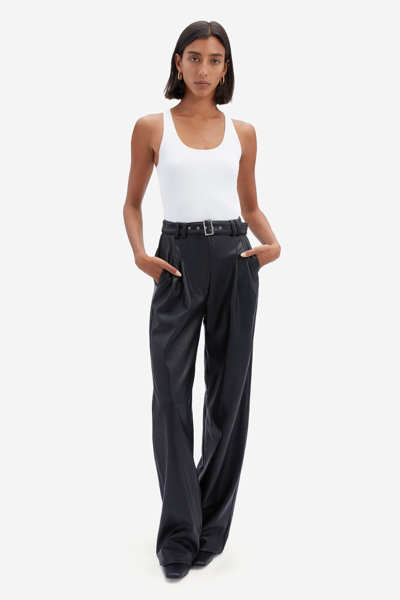 Delaney Vegan Leather Pant