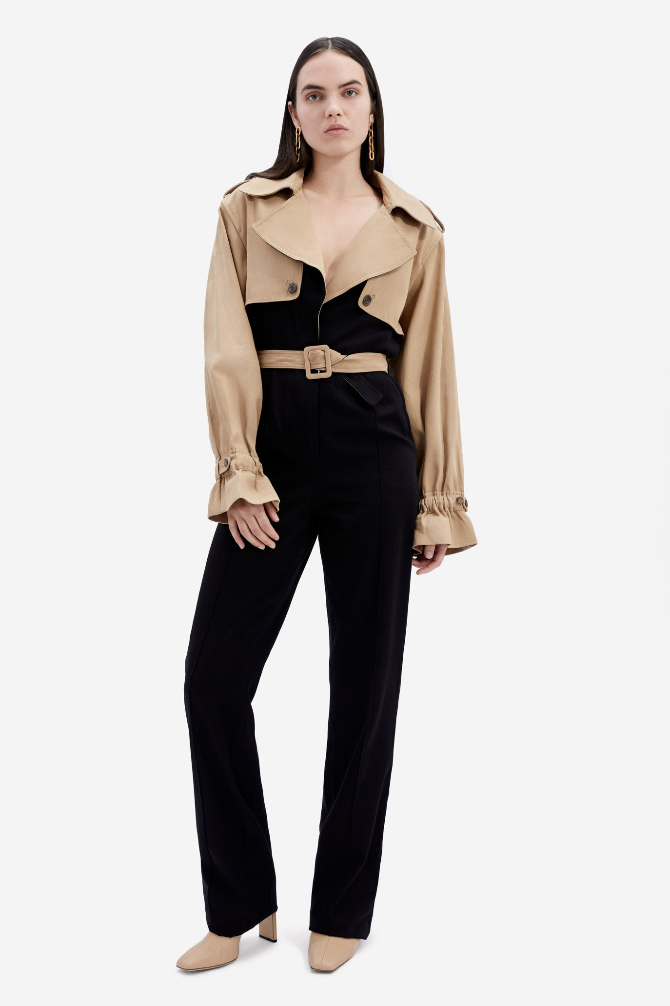 Rowan Trench Jumpsuit