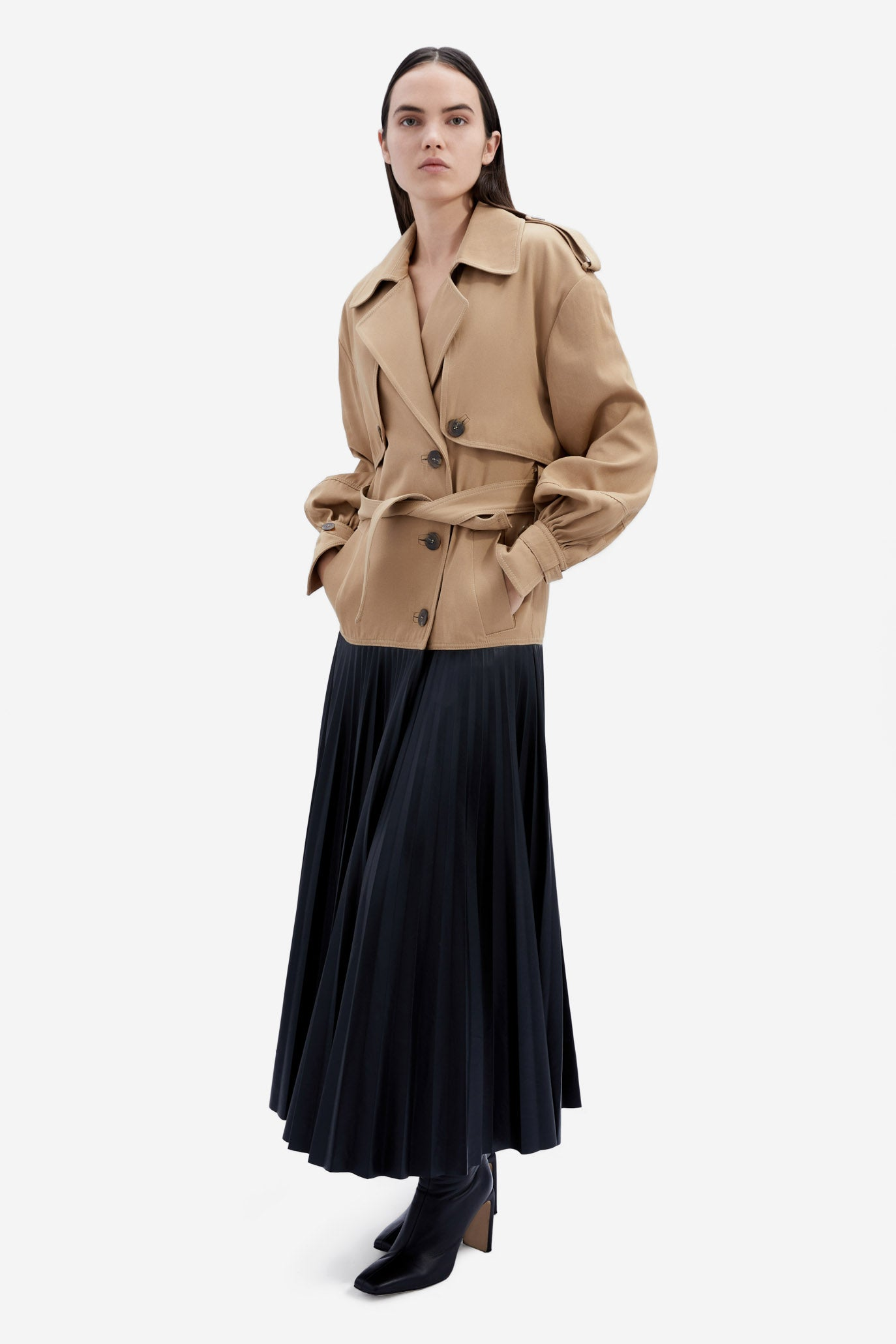 Dakota Skirted Trench