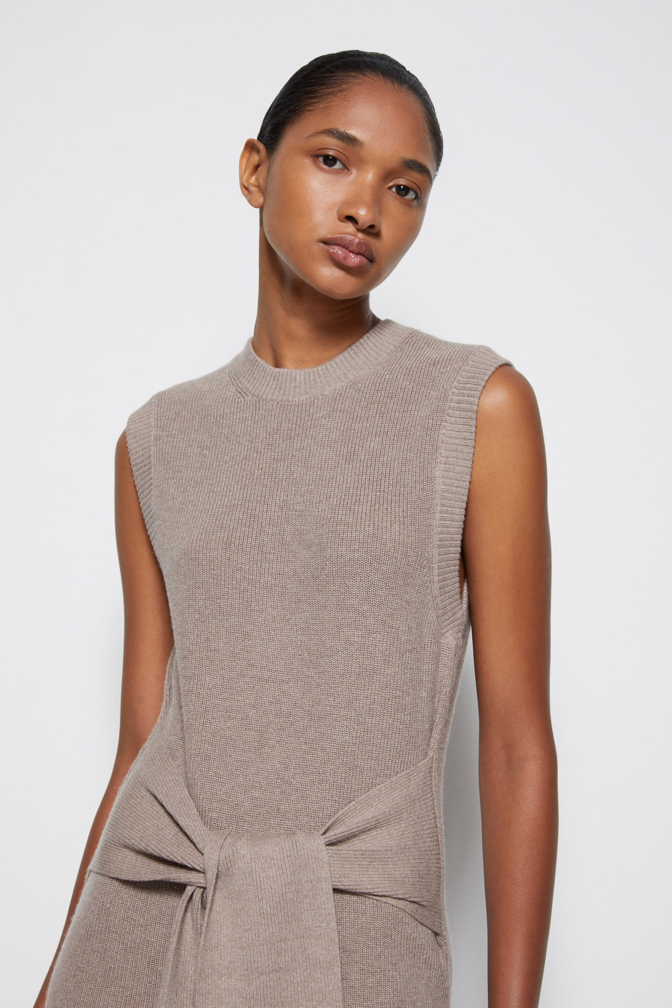Off-Duty Cashmere Dress