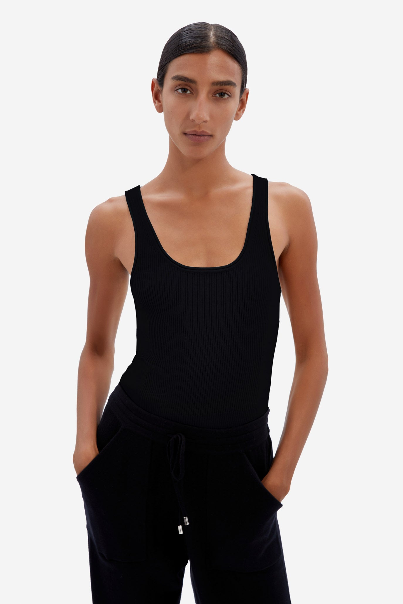 Off-Duty Cashmere Tank