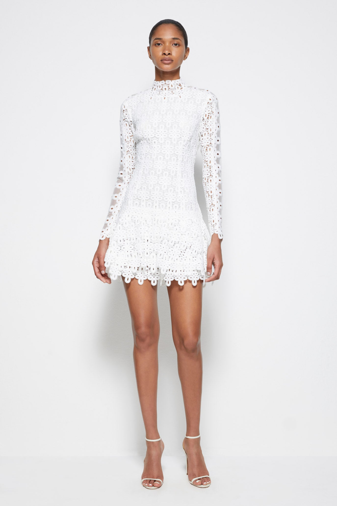 Signature Guipure Lace Mini