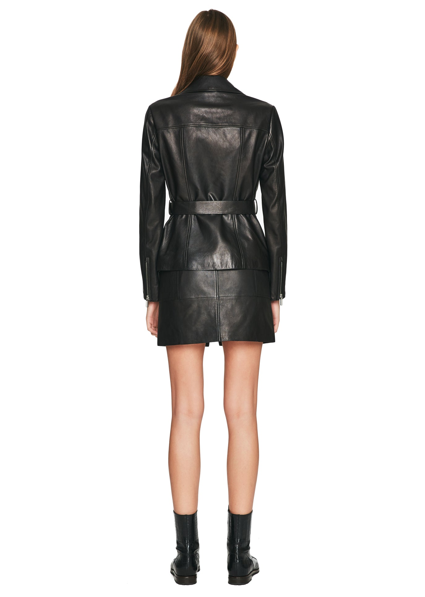 Signature Leather Biker Jacket