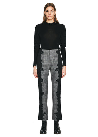Wool Applique E-Cig Pant