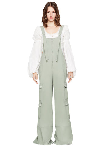 HEAVY TWILL UTILITY WIDE LEG  OVERALL