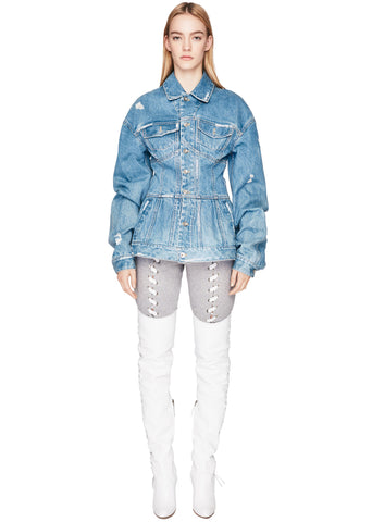 Denim Corset Jacket