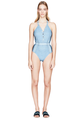 Vintage Denim One Piece