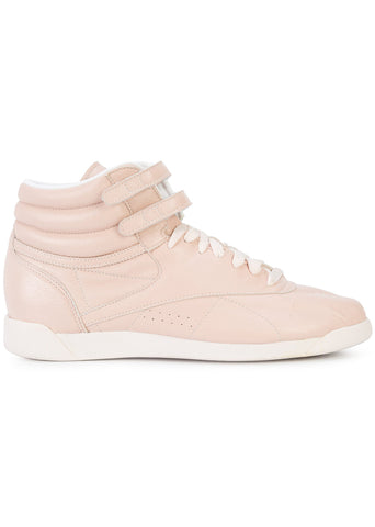 Reebok x Jonathan Simkhai - Powder Pink Leather Freestyle Hi