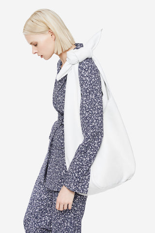 The Donna Hobo Bag in White