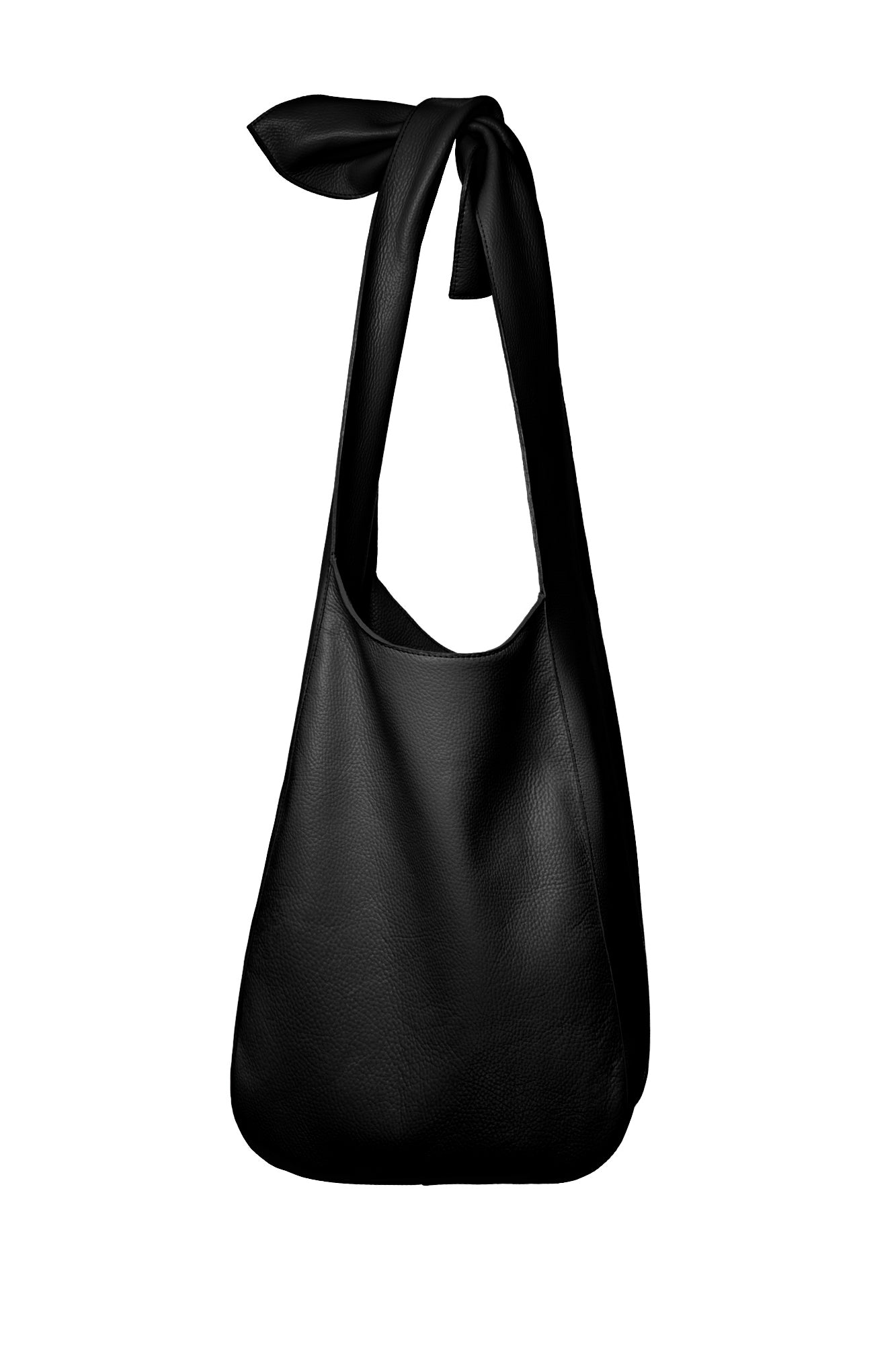 The Donna Hobo Bag in Black