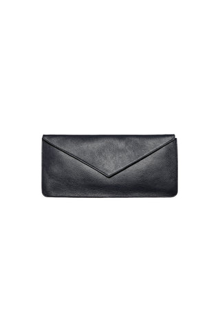Isha Envelope Clutch in Black
