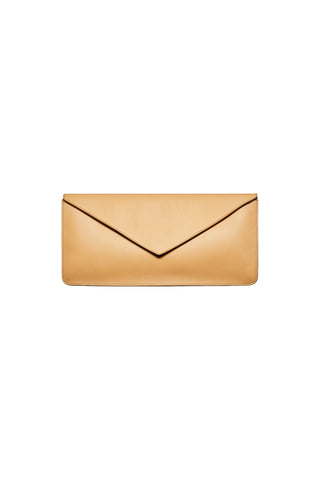 Isha Envelope Clutch in Camel