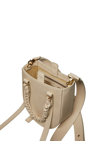 Mara Crossbody Bag in Stone