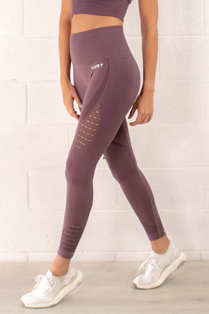 DUSTY PURPLE LIFESTYLE LEGGING