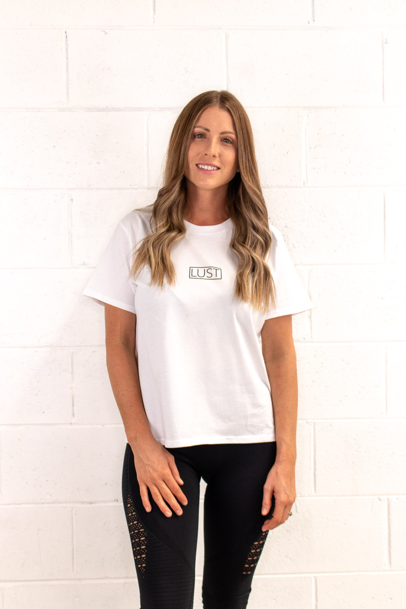 White Casual Tee