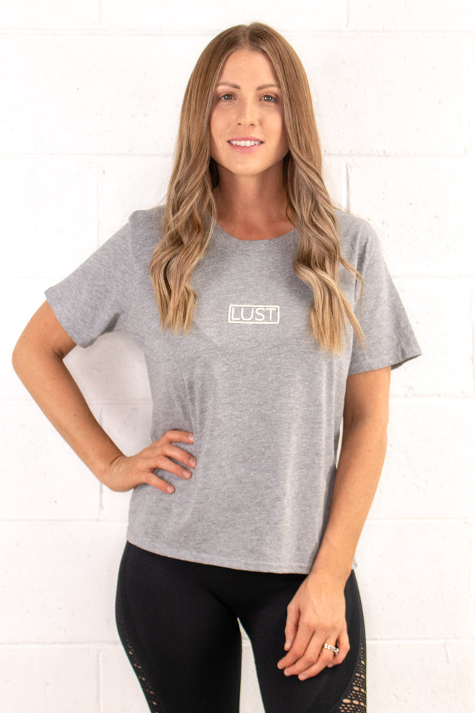Grey Casual Tee