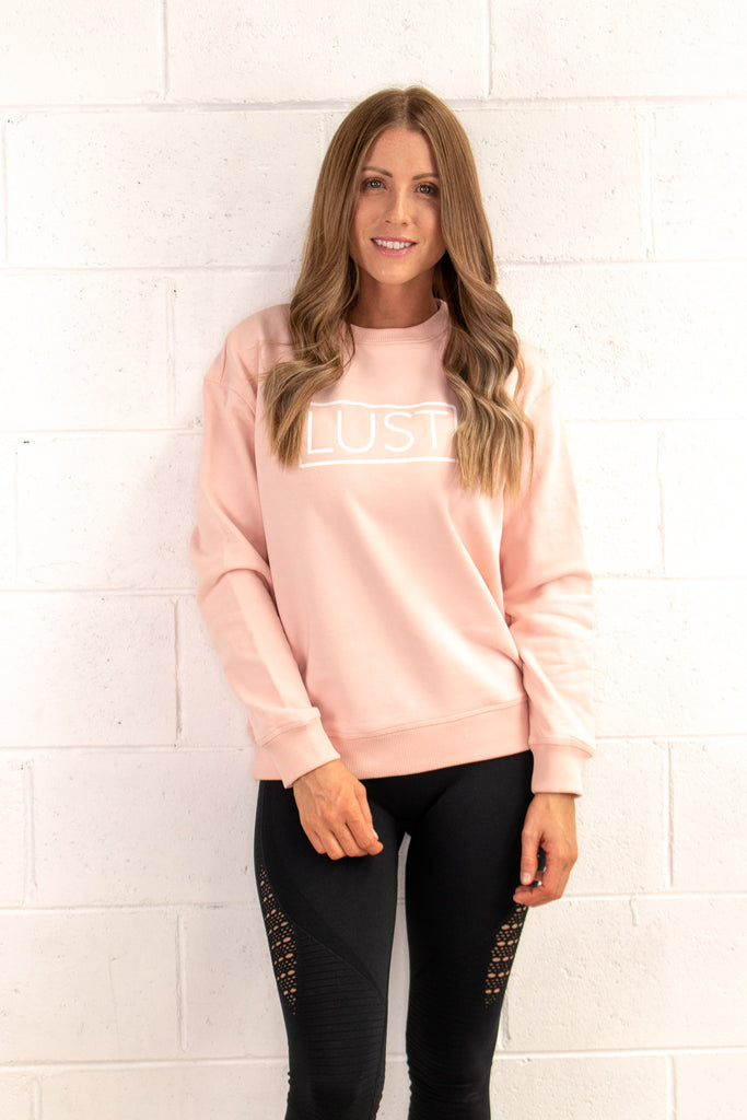 Classic Pale Pink Sweater