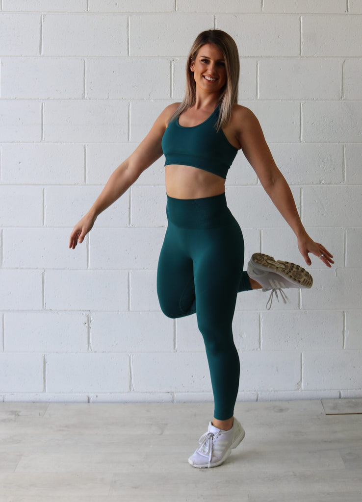 ULTRA SEAMLESS - EMERALD LEGGING