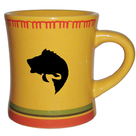 Bass Coffee Mug - Outside Inside gifts