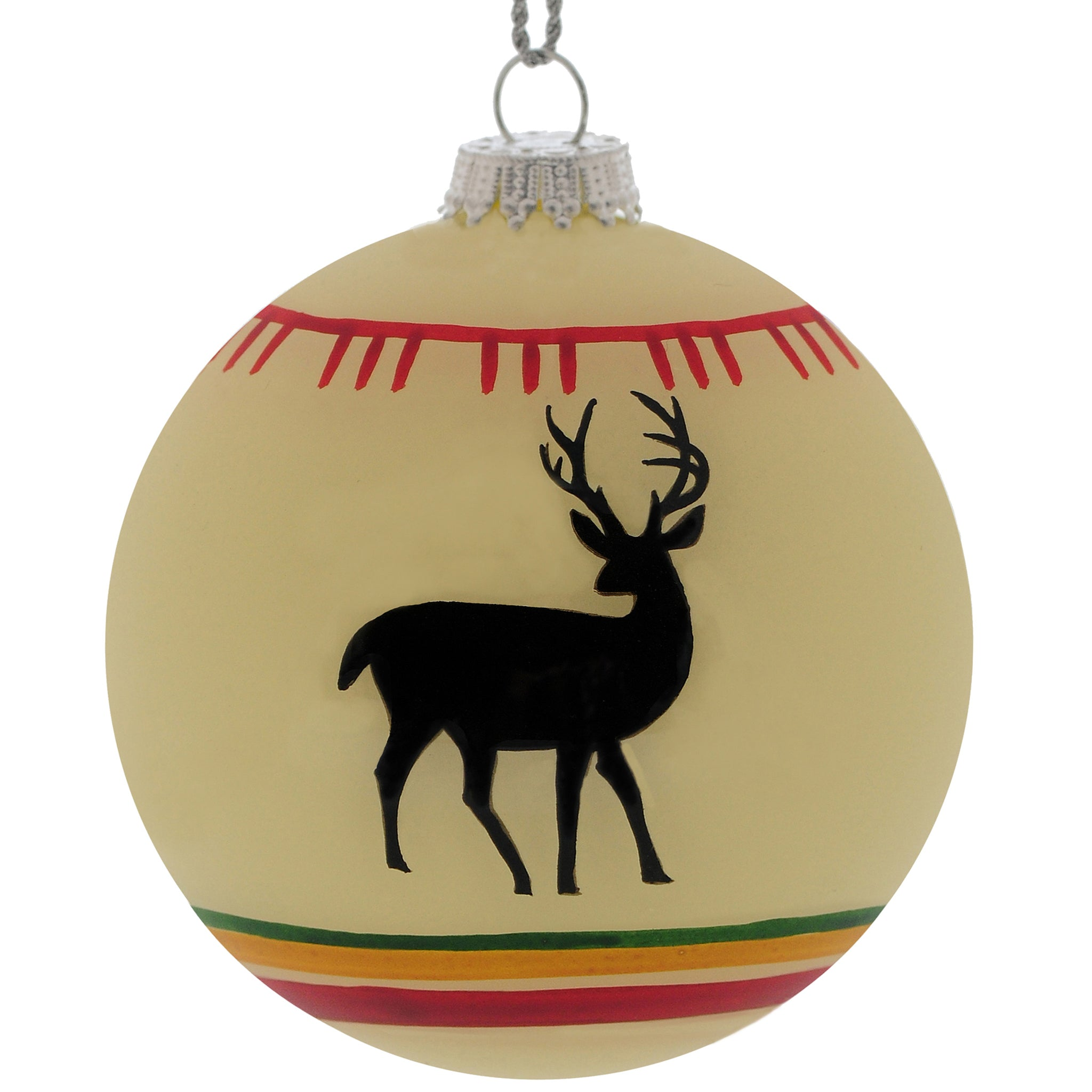white deer christmas tree ornament white deer tree ornament outside inside gifts